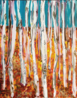 Klimt - Forest of Beach Trees